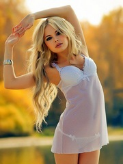 Cute eighteen blonde and popular photo..