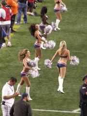 Youngster Cheerleaders Ten High..