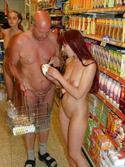 Bare shopping photos - nude women in..