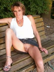 Appetizing mature hottie boast its by a..