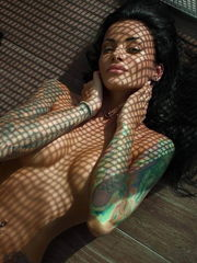 Hot Damsels with Tattoos-829 -..