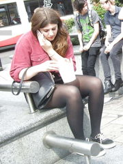 More tights candids - Images - xHamster