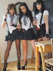 High  Sexy coed Uniforms : Image..