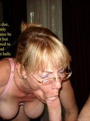 Fergie deep throating cock.