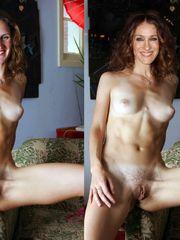 Sarah jessica parker faux nude.