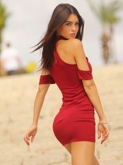 Silvia Caruso the Italian model..