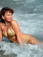 Uber-cute marvelous mature ex-wife with..
