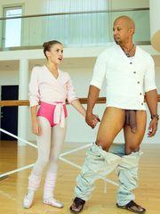 Teenage model Natasha Milky blow..