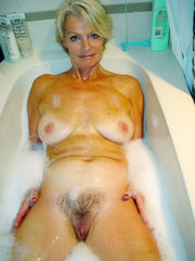 Chesty nude housewives in douche
