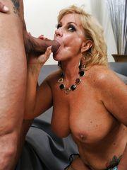 Humungous baps mature Zena Rey dose..