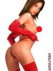Veronica Maya cabooses Nude figure..