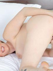 The red-headed minx Lauren Phillips..