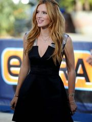 Bella Thorne on the set of..