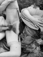 Unshaved ebony slit adult amature -..