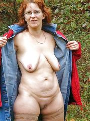 Real bodacious mature exhibitionists in..