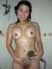 An elder Japanese call girl pulverizes..