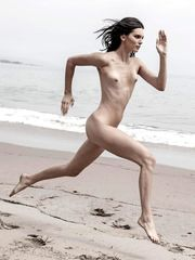 Kendall Jenner Leaked Beach Nudes For..