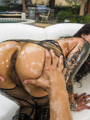 Nikita Denise Lubed Up Outside Assfuck..
