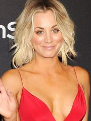 Kaley Cuoco Wields The After-Party In A..