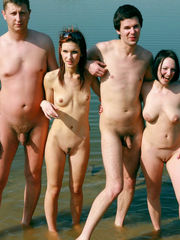Inexperienced bare beach gals with..