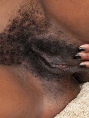 WeAreHairy Nina Devon Fur covered black..