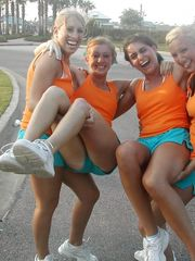 Teenager Cheerleaders Part 32 upskirtporn