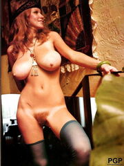 Roberta Pedon Antique big-boobed  model..