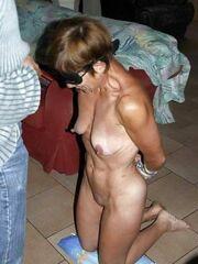 Harsh mature restrain bondage porn..