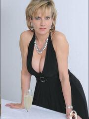 Stylish big-titted nylons mature -..