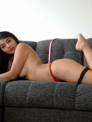 Latina nubile Sofia Gomez showcases off..