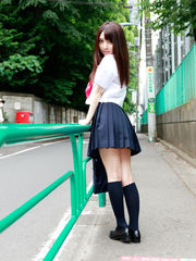 Yoshiko Suenaga Sexy College girl..