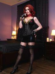 Angie Griffin Ebony Widow (pics)..