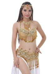 Stomach Dance Costume Set Ladies Sexy..
