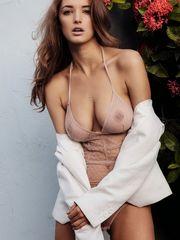 ultra-cute celeb Alyssa Arce see thru..
