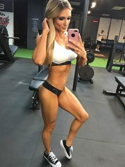 Alyssa Germeroth Ultra-cutie Muscle