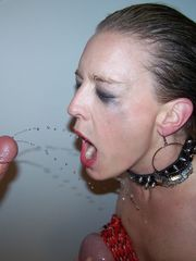Amateur urinate guzzling mega-slut -..