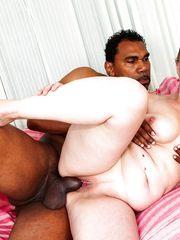 Thick mommy Nicol G taking  bi-racial..