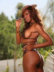 Handsome Ebony starlet Nyomi Banxxx..