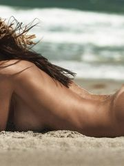 Italian model Silvia Caruso Naked  The..