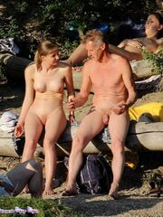 Nude life nudists on the beach - Beach..