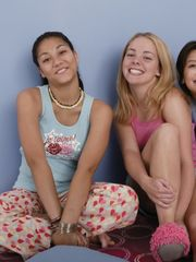 Nubile girls sleep over joy - Stunners..