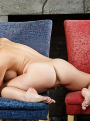 Cherie Deville undressing and posing..