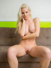 Sassy unexperienced blonde Melanie..