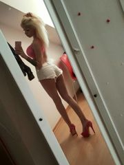 Lumps of Me Light-haired Bimbo Barbie..