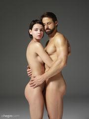 Голая пара Naked-Woman
