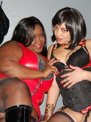 Ebony mistress galleries femdom -..