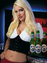 26 Very Suggestive Damsel Beer Ads..