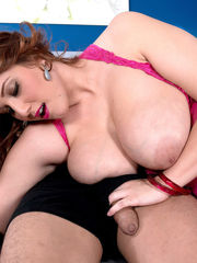 Huge-boobed Hefty Fun bags Angel DeLuca..