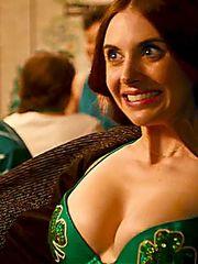 Alison Brie orgy scenes