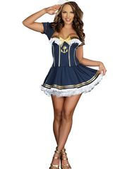 Navy Tweak Up Sailor Costume -..